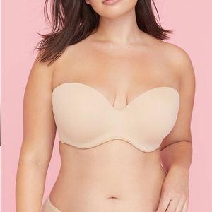 Cacique strapless bra 44DD NWOT